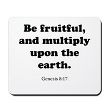 Genesis 8:17 Mousepad