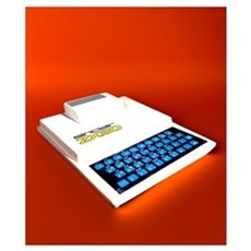 Sinclair ZX80 personal computer Poster