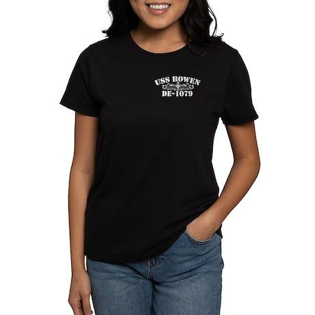 USS BOWEN Women's Dark T-Shirt
