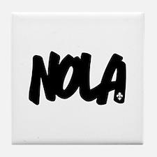 NOLA Brushed Tile Coaster