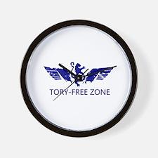 WingsLand ToryFree White Wall Clock