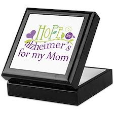 Hope For Alzheimers For My Mom Keepsake Box