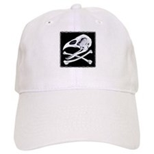 Rooster Skull and Crossbones Baseball Cap