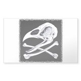 Rooster skull and crossbones 10 Pack