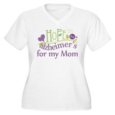 Hope For Alzheimers For My Mom T-Shirt