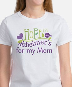 Hope For Alzheimers For My Mom Tee