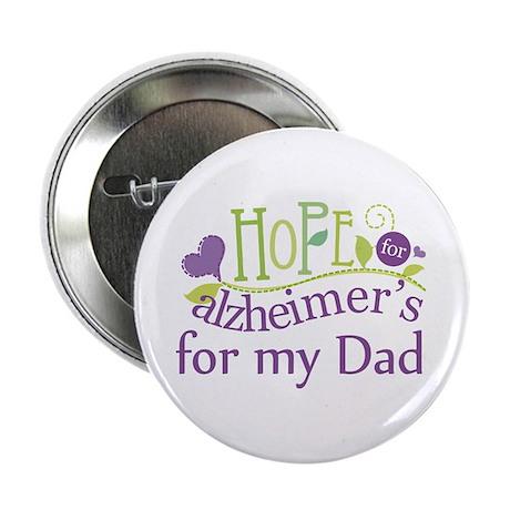 "Alzheimers Hope For Nana 2.25"" Button"