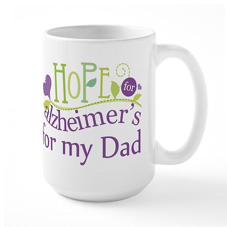 Alzheimers Hope For Nana Large Mug