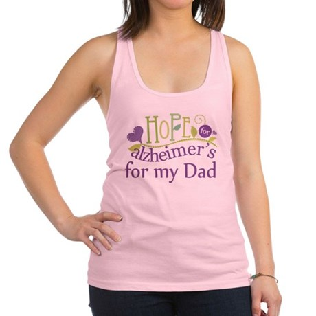 Alzheimers Hope For Nana Racerback Tank Top