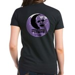 Women's Dark T-Shirt Back Image