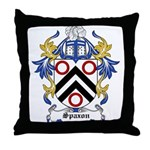 Spaxon Coat of Arms Throw Pillow