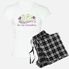 Hope For Alzheimers Grandma Pajamas