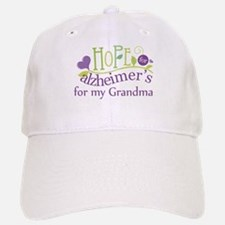 Hope For Alzheimers Grandma Baseball Baseball Cap