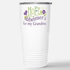 Hope For Alzheimers Grandma Travel Mug