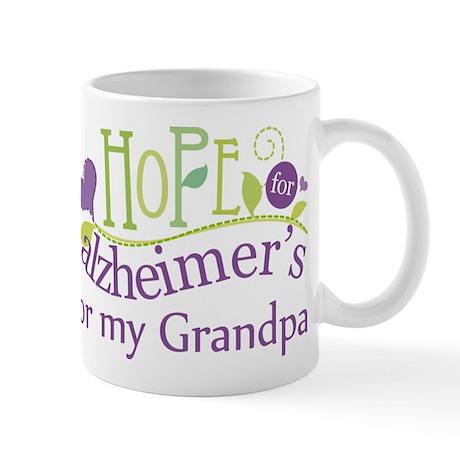 Hope For Alzheimers Grandpa Mug