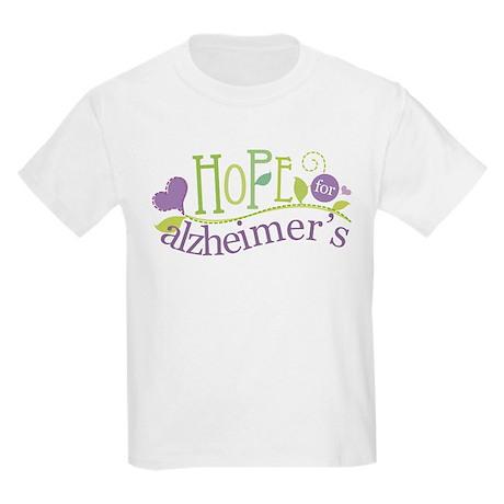 Hope For Alzheimer's Disease Kids Light T-Shirt