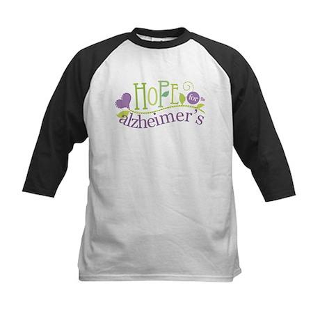 Hope For Alzheimer's Disease Kids Baseball Jersey