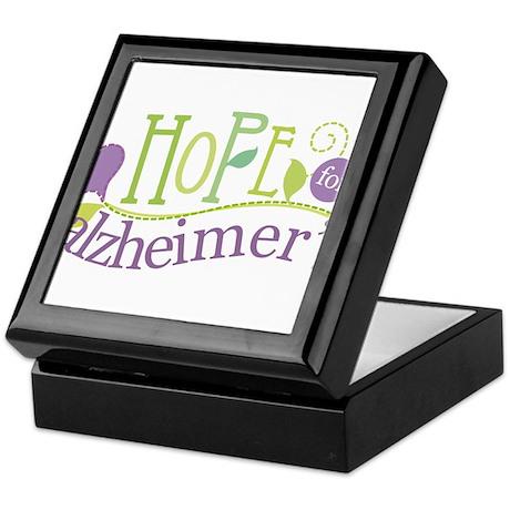 Hope For Alzheimer's Disease Keepsake Box