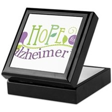 Hope For Alzheimer's Disease Keepsake Box