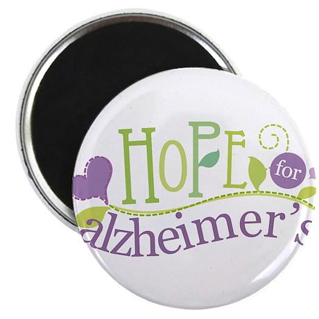 Hope For Alzheimer's Disease Magnet