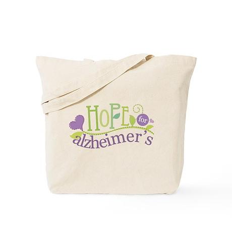 Hope For Alzheimer's Disease Tote Bag