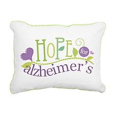 Hope For Alzheimer's Disease Rectangular Canvas Pi