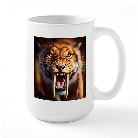 Sabertooth 1.png Large Mug
