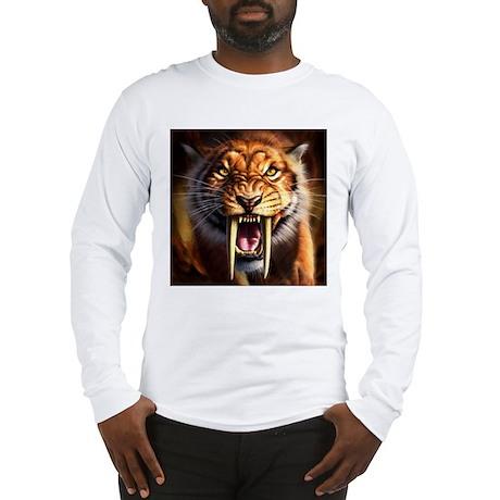 Sabertooth 1.png Long Sleeve T-Shirt