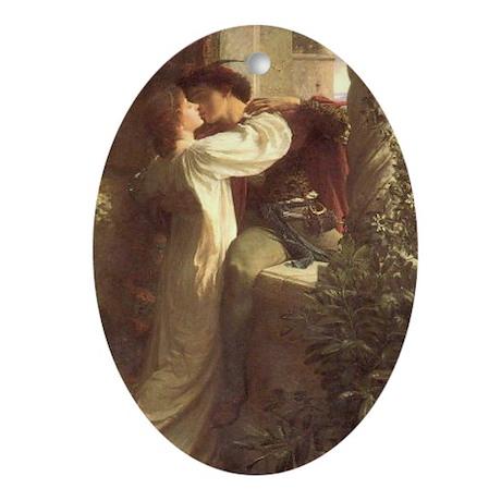 Romeo and Juliet Keepsake (Oval)