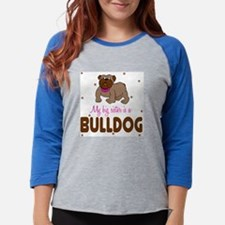 2-bulldog2.jpg Womens Baseball Tee