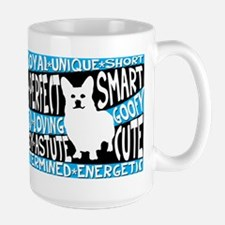 Corgi ( in words) Mug
