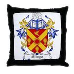 Slingo Coat of Arms Throw Pillow