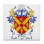 Slingo Coat of Arms Tile Coaster