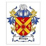 Slingo Coat of Arms Small Poster