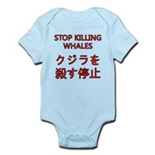 Stop Killing Whales Infant Bodysuit