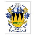 Sleich Coat of Arms Small Poster