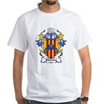 Skirving Coat of Arms White T-Shirt