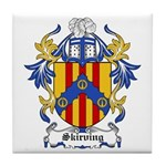 Skirving Coat of Arms Tile Coaster
