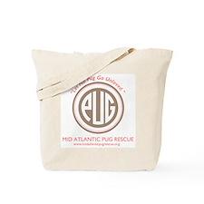 Let No Pug Go Unloved Tote Bag
