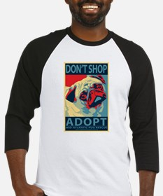 Dont Shop - Adopt! Baseball Jersey