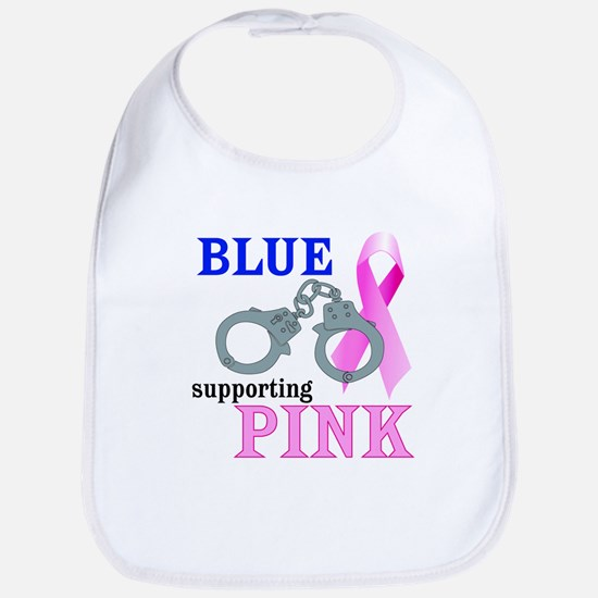 Blue supporting Pink Bib