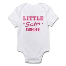 Little Sister - Team 2011 Infant Bodysuit