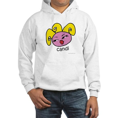Flixy Cats Candi Hooded Sweatshirt