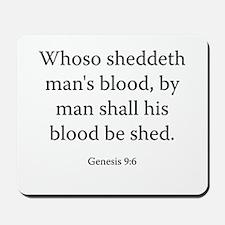 Genesis 9:6 Mousepad