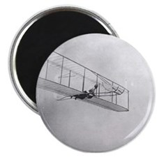 """The 1902 Wright Glider Close- 2.25"""" Magnet (100 pa"""