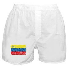 Vintage Venezuela Flag Boxer Shorts