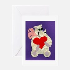 Rhino Love Greeting Card