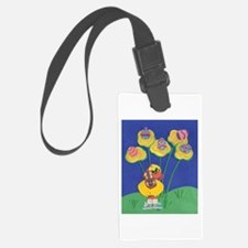 Easter Duckie Luggage Tag