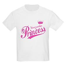 Princess Venezuelan Kids T-Shirt