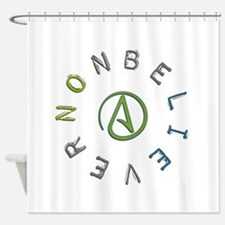 Nonbeliever Shower Curtain